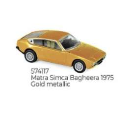 Matra Simca - Bagheera 1975 gold - 1:87 - Norev - 74117 - nor574117 | The Diecast Company