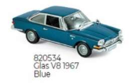 Glas  - V8 1967 blue - 1:87 - Norev - 820534 - nor820534 | The Diecast Company