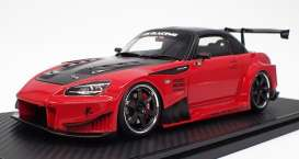 Honda  - S2000 red metallic - 1:18 - Ignition - IG2013 - IG2013 | The Diecast Company