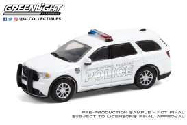 Dodge  - Durango 2018 white - 1:64 - GreenLight - 30268 - gl30268 | The Diecast Company