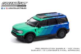 Ford  - Bronco 2021 blue/green - 1:64 - GreenLight - 30279 - gl30279 | The Diecast Company