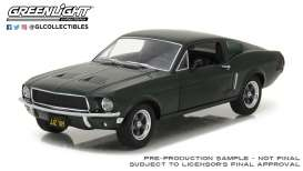 Ford  - Mustang GT 1968 green - 1:24 - GreenLight - 84038 - gl84038 | The Diecast Company