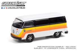 Volkswagen  - Type 2 1976 black/white - 1:64 - GreenLight - 36030B - gl36030B | The Diecast Company