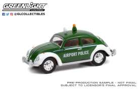 Volkswagen  - Beetle green/white - 1:64 - GreenLight - 36030D - gl36030D | The Diecast Company