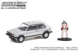 Volkswagen  - Golf 1976 silver - 1:64 - GreenLight - 97110C - gl97110C | The Diecast Company