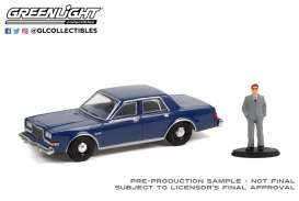 Plymouth  - Grand Fury 1986 navy blue - 1:64 - GreenLight - 97110D - gl97110D | The Diecast Company