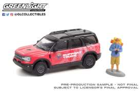 Ford  - Bronco 2021 red/pink - 1:64 - GreenLight - 97110F - gl97110F | The Diecast Company