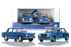 Renault  - blue - 1:18 - Solido - 180005 - soli180005 | The Diecast Company