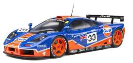 McLaren  - F1 GTR blue/orange - 1:18 - Solido - 1804101 - soli1804101 | The Diecast Company