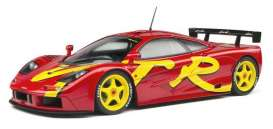 McLaren  - F1 GTR red - 1:18 - Solido - 1804102 - soli1804102 | The Diecast Company