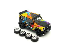 LB Works Suzuki - Jimny *X the Wrap Icon* 2019 various - 1:64 - BM Creations - 64B0076 - BM64B0076 | The Diecast Company