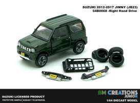 Suzuki  - Jimny K-Car JB23 1998 dark green - 1:64 - BM Creations - 64B0068 - BM64B0068 | The Diecast Company