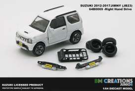Suzuki  - Jimny K-Car JB23 1998 white - 1:64 - BM Creations - 64B0069 - BM64B0069 | The Diecast Company