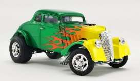 Willys  - Gasser  1933 green/yellow - 1:18 - Acme Diecast - 1800917 - acme1800917 | The Diecast Company