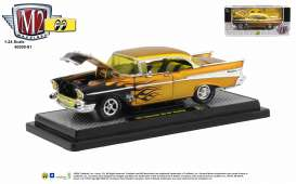 Chevrolet  - Bel Air 1957 gold/black - 1:24 - M2 Machines - 40300-81 - M2-40300-81A | The Diecast Company