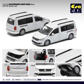 Volkswagen  - Caddy Maxi white - 1:64 - Era - VW20CamRN39 - EraVW20CAMRN39 | The Diecast Company