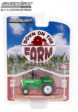 Tractor  - 1974 green - 1:64 - GreenLight - 48050B - gl48050B | The Diecast Company