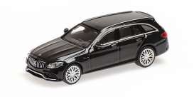 Mercedes Benz  - AMG C63 2018 black - 1:87 - Minichamps - 870038114 - mc870038114 | The Diecast Company