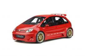 Citroen  - 2002 red - 1:18 - OttOmobile Miniatures - ot345 - otto345 | The Diecast Company
