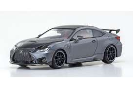 Lexus  - RC F grey - 1:43 - Kyosho - 03699MG - kyo3699MG | The Diecast Company