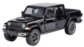 Jeep  - Gladiator Rubicon hard top 2020 black - 1:27 - Motor Max - 79368 - mmax79368bk | The Diecast Company