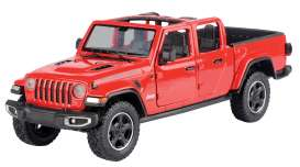 Jeep  - Gladiator Rubicon open top 2020 red - 1:27 - Motor Max - 79370 - mmax79370r | The Diecast Company