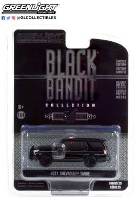 Chevrolet  - Tahoe 2021 black - 1:64 - GreenLight - 28070E - gl28070E | The Diecast Company