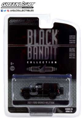 Ford  - Bronco 2021 black - 1:64 - GreenLight - 28070F - gl28070F | The Diecast Company