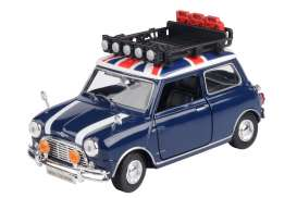 Mini  - Cooper blue/white/red - 1:18 - Motor Max - 79741 - mmax79741 | The Diecast Company