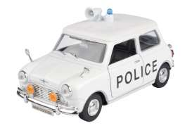 Mini  - Cooper white/black - 1:18 - Motor Max - 79742 - mmax79742 | The Diecast Company