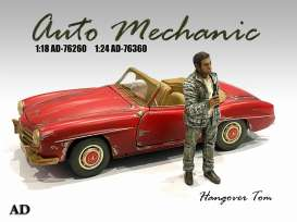 Figures  - Hangover Tom 2020  - 1:24 - American Diorama - 76360 - AD76360 | The Diecast Company