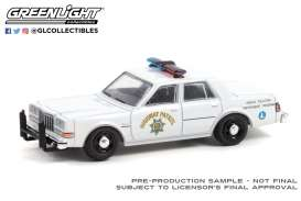 Dodge  - Diplomat white - 1:64 - GreenLight - 42970C - gl42970C | The Diecast Company