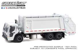 Mack  - LR Rear 2020 white - 1:64 - GreenLight - 45130B - gl45130B | The Diecast Company