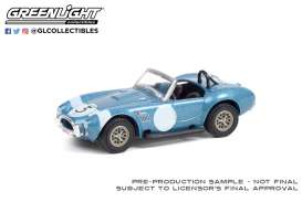 Shelby  - Cobra 1964 blue/black - 1:64 - GreenLight - 37230B - gl37230B | The Diecast Company