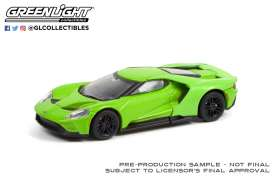 Ford  - GT 2017 green - 1:64 - GreenLight - 37230E - gl37230E | The Diecast Company