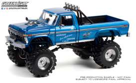 Ford  - F-250 Monster Truck 1978 blue - 1:18 - GreenLight - 13605 - gl13605 | The Diecast Company