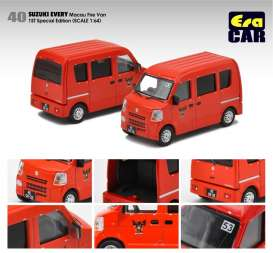 Suzuki  - Every  red - 1:64 - Era - su19everf40 - Era19EVERF40 | The Diecast Company