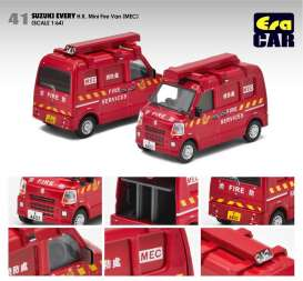 Suzuki  - Every  red - 1:64 - Era - su19evern41 - Era19EVERN41 | The Diecast Company