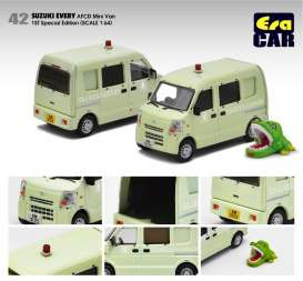 Suzuki  - Every  light green - 1:64 - Era - su19everf42 - Era19EVERF42 | The Diecast Company