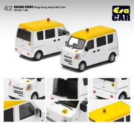Suzuki  - Every  white/yellow - 1:64 - Era - su19evern42 - Era19EVERN42 | The Diecast Company