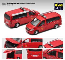 Mercedes Benz  - Vito red - 1:64 - Era - MB20VITRN46 - Era20VITRN46 | The Diecast Company