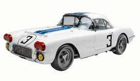Chevrolet  - Corvette 1971 white/blue - 1:18 - Acme Diecast - RAR18011 - acmeRAR18011 | The Diecast Company