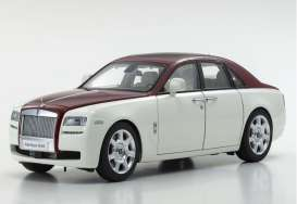 Rolls Royce  - Ghost SWB white/red - 1:18 - Kyosho - 8802EWR - kyo8802EWR | The Diecast Company