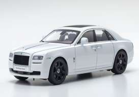 Rolls Royce  - Ghost SWB white - 1:18 - Kyosho - 8802AW - kyo8802AW | The Diecast Company