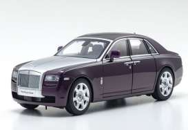 Rolls Royce  - Ghost SWB purple/red - 1:18 - Kyosho - 8802TPS - kyo8802TPS | The Diecast Company