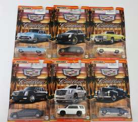 Cadillac  - assortment various - 1:64 - Matchbox - GGF12 - MBGGF12-968J | The Diecast Company