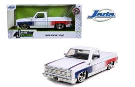 Chevrolet  - C10 pick-up 1985 white/red/blue - 1:24 - Jada Toys - 31683 - jada31683 | The Diecast Company
