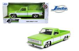 Chevrolet  - C10 pick-up 1985 green/white - 1:24 - Jada Toys - 31685 - jada31685 | The Diecast Company