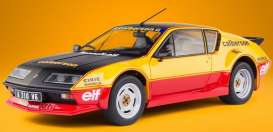 Renault  - Alpine A310 GT yellow/black/red - 1:18 - Solido - 1801204 - soli1801204 | The Diecast Company