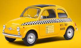 Fiat  - 500 yellow - 1:18 - Solido - 1801407 - soli1801407 | The Diecast Company